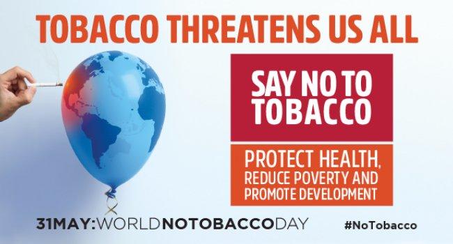 Тема Всемирного дня без табака 2017 года: Табак – угроза для развития