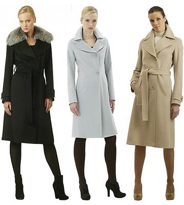 Выбираем женское пальто
