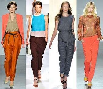 С чем можно сочетать женские брюки