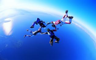 Прыгаем с парашютом