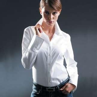 Женская белая блузка