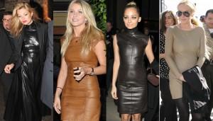 Эксклюзивные кожаные платья