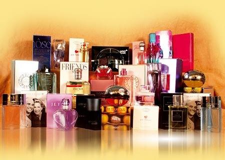 Выбор парфюмерии и косметики