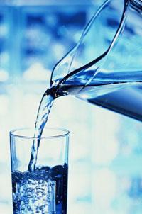 Очищенная питьевая вода