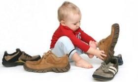 Выбор  обуви  для ребёнка