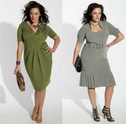 Выбираем одежду для девушек с полными формами
