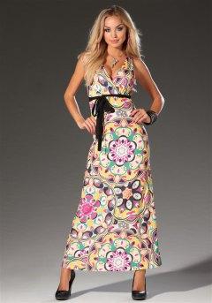 Платье с принтом!