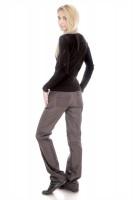 Утепленные брюки женские