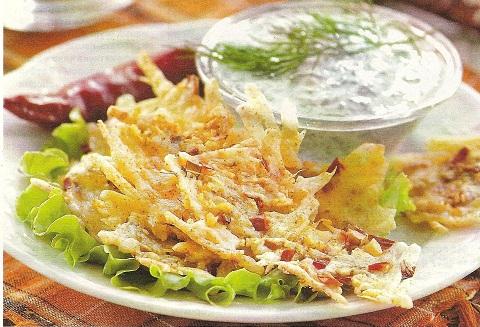 Домашние сырные чипсы