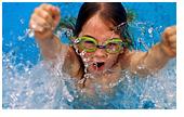 Грамотный выбор  детской одежды дл плавания