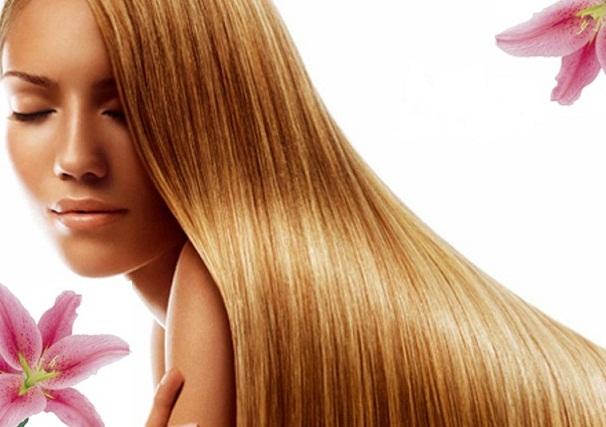 Шампунь поможет сохранить красоту женских волос