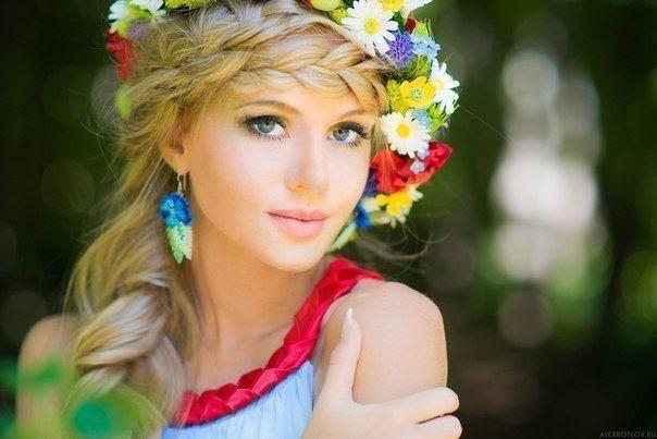 Женская сила и красота в её волосах