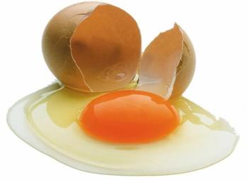 Куриные яйца в рационе и их польза для легких и желудка