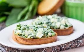 Как правильно приготовить зеленые  бутерброды