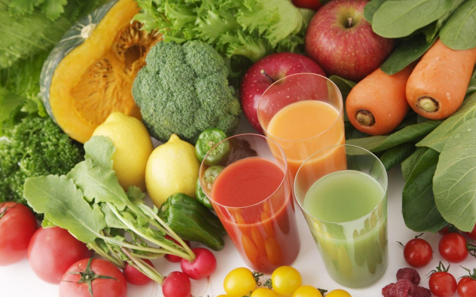 Овощи и фрукты – залог здоровья и красоты