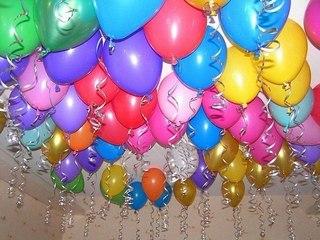 Покупка праздничных шаров