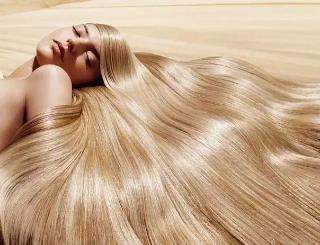Красота в длинных волосах