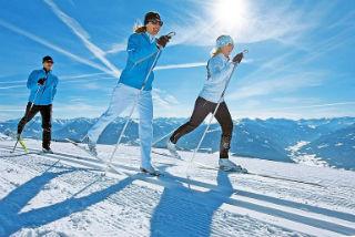 В чем польза лыжного спорта