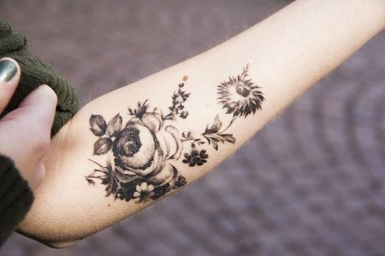 Татуировки как украшение