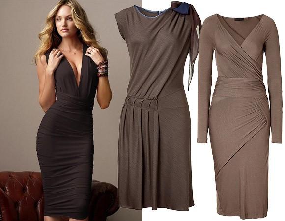 Трикотажное платье – тренд сезона