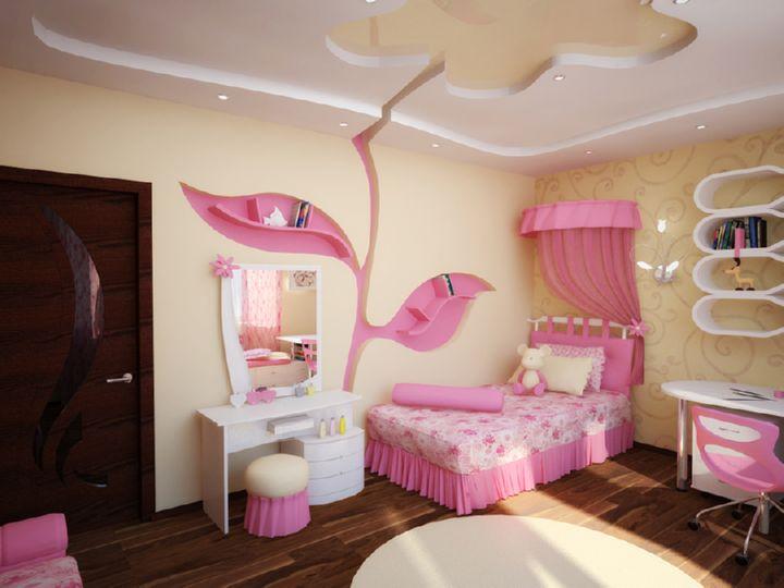 Дизайн комнаты для дочери